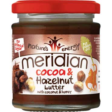 Cocoa and hazelnut butter