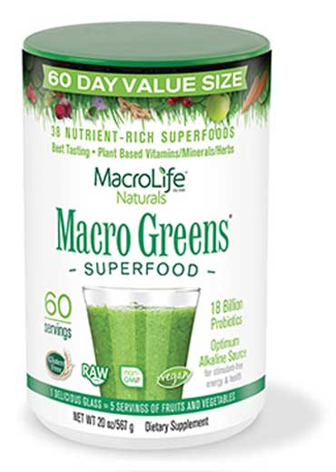 Macro Greens superfood (60 Servings) 567g