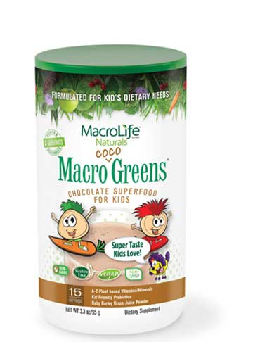 For KIDS! Macro Coco Greens (15 Servings) 95g