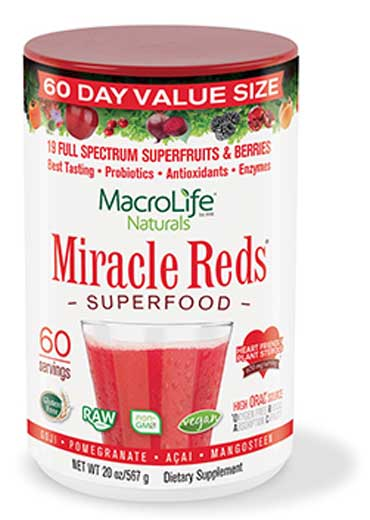 Miracle reds superfood (60 Servings) 567g