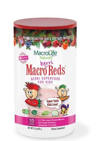 For KIDS! Macro Berri Reds (15 Servings) 95g
